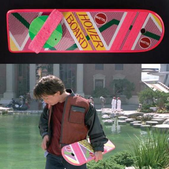 L'Hoverboard de Retour vers le Futur