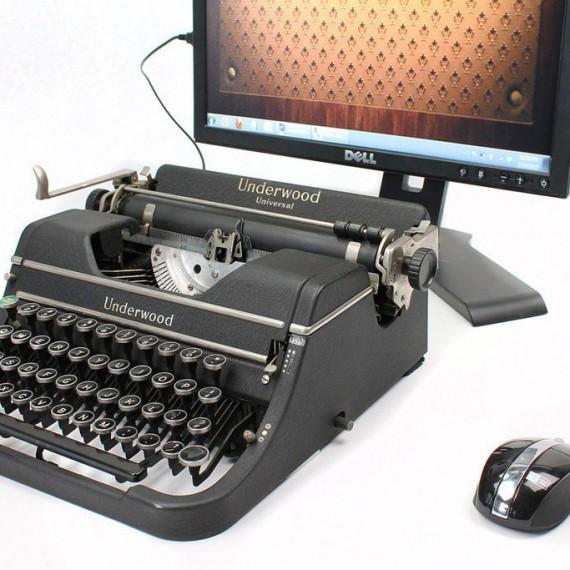 Machine à écrire USB
