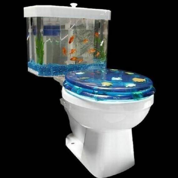 Chasse d'eau aquarium