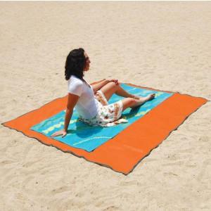 La serviette de plage anti sable