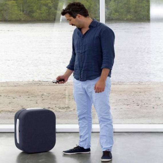 La valise suiveuse bluetooth