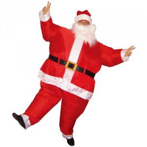 Costume Père Noël gonflable