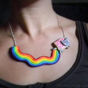 Collier Nyan Cat