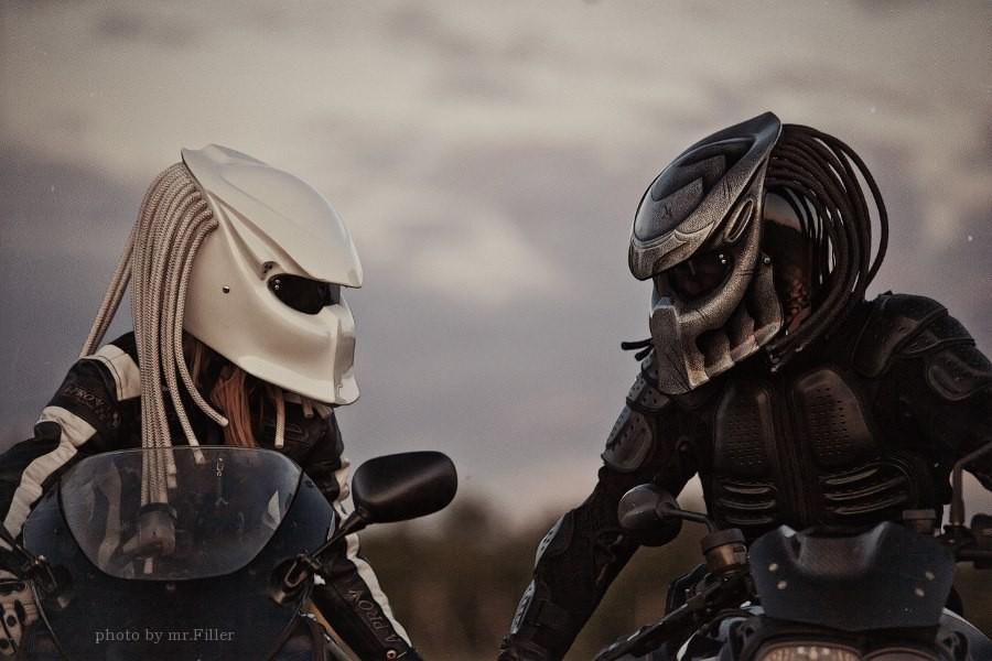 Casque Predator Le Casque De Moto Original Commentseruiner