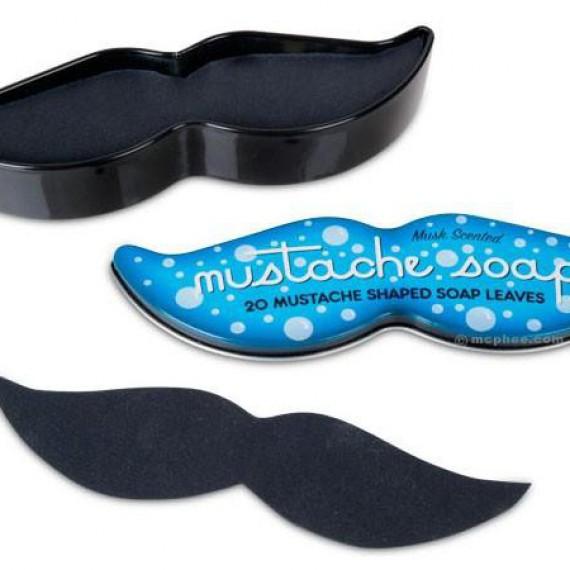 Le savon feuille de moustache