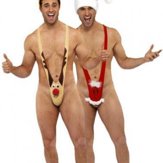 Déguisement renne et père Noël humoristiques