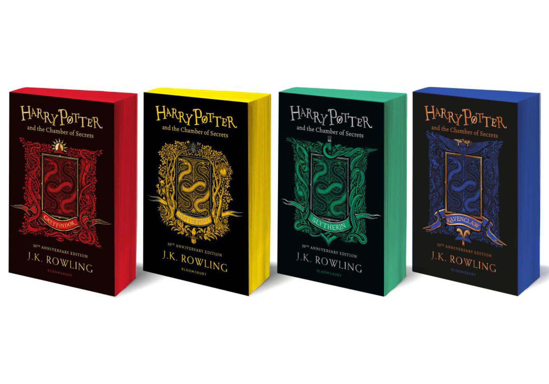 Harry Potter éditions 20 ans