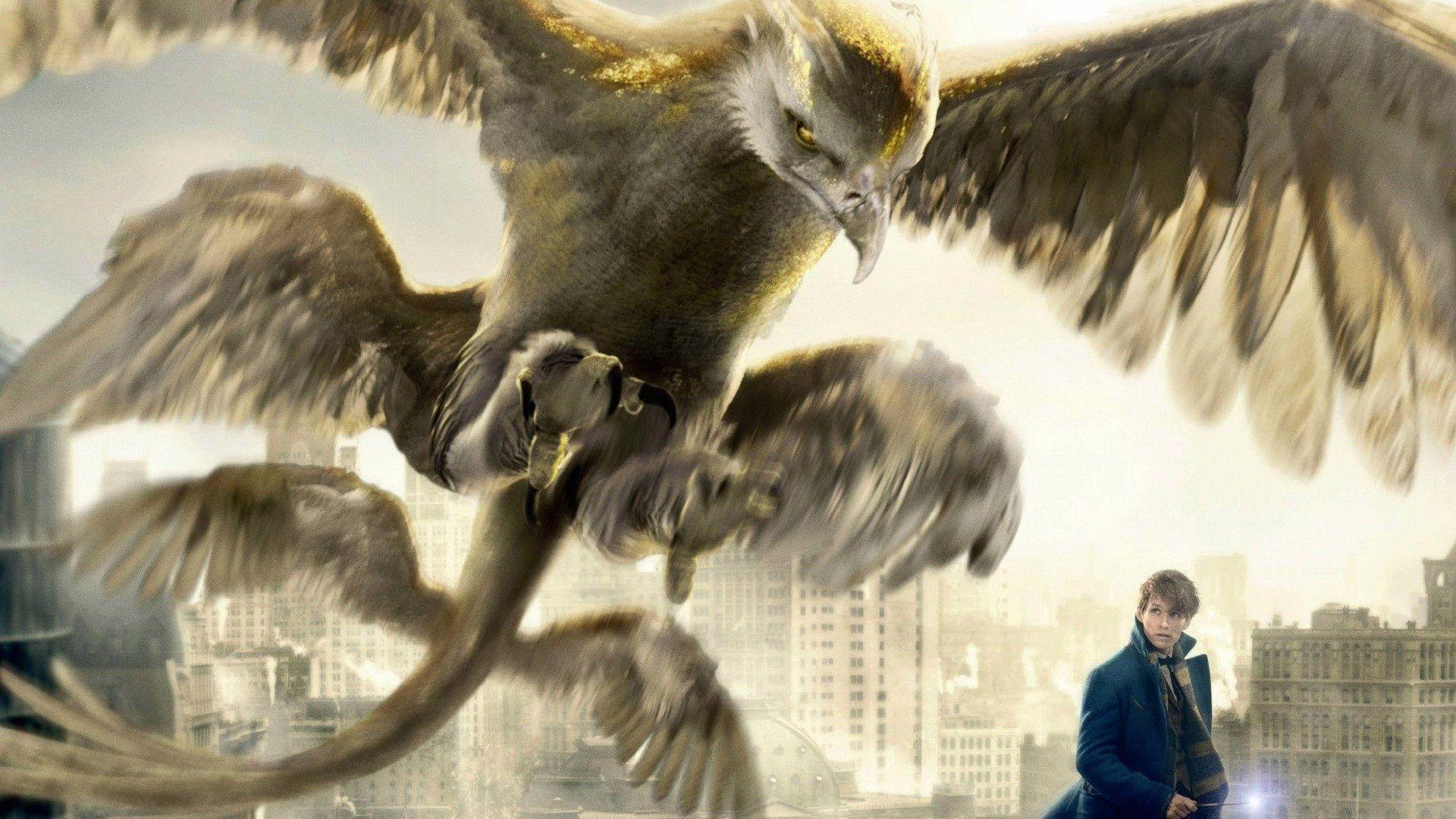 l'oiseau tonnerre, la créature tirée du film les animaux fantastiques 2