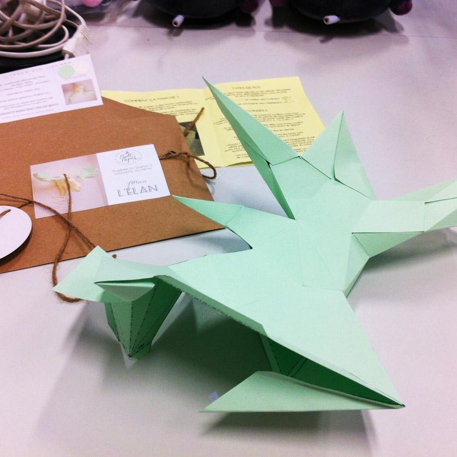 j 39 ai test le troph e origami diy alban l 39 lan pigsou mag. Black Bedroom Furniture Sets. Home Design Ideas
