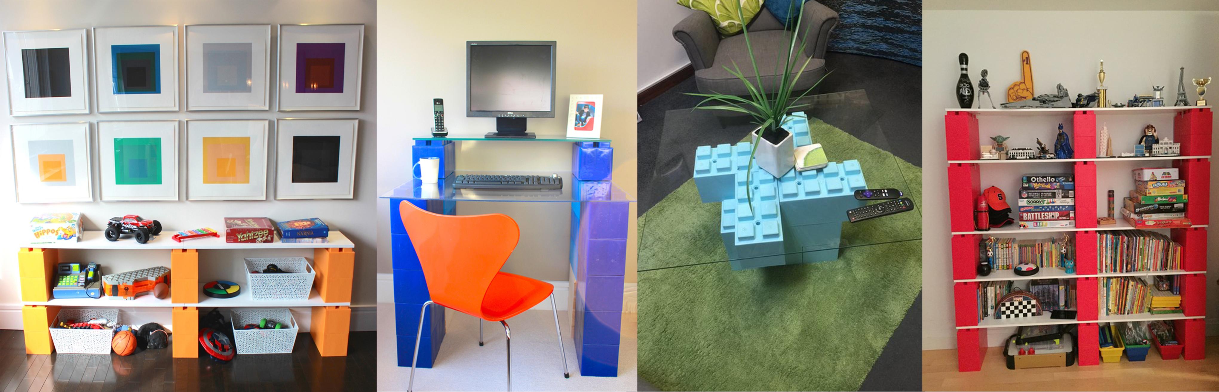 everblock personnalisez votre int rieur avec des lego g ants pigsou mag. Black Bedroom Furniture Sets. Home Design Ideas