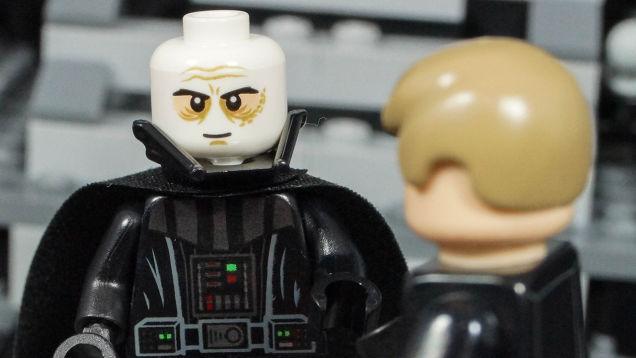 Nouvelle figurine lego dark vador enl ve son masque - Lego star wars avec dark vador ...