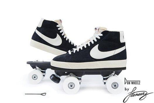 roller sans chaussure