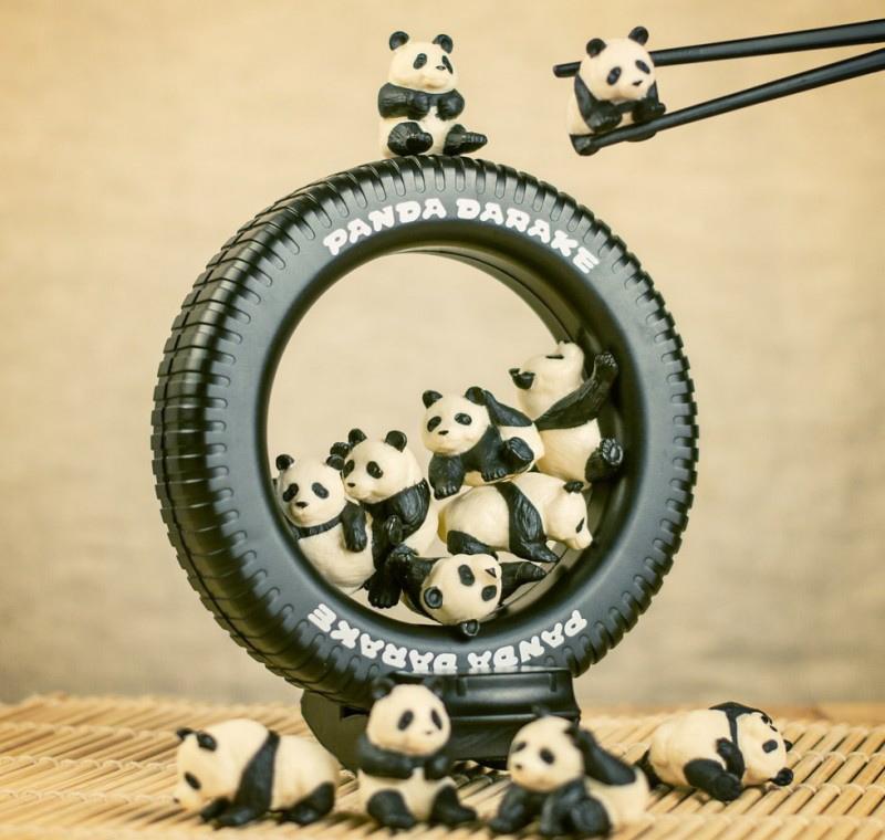 Les pandas sont fantastiques et ces objets insolites nous le prouvent pigsou mag - Comment tenir des baguettes chinoises ...
