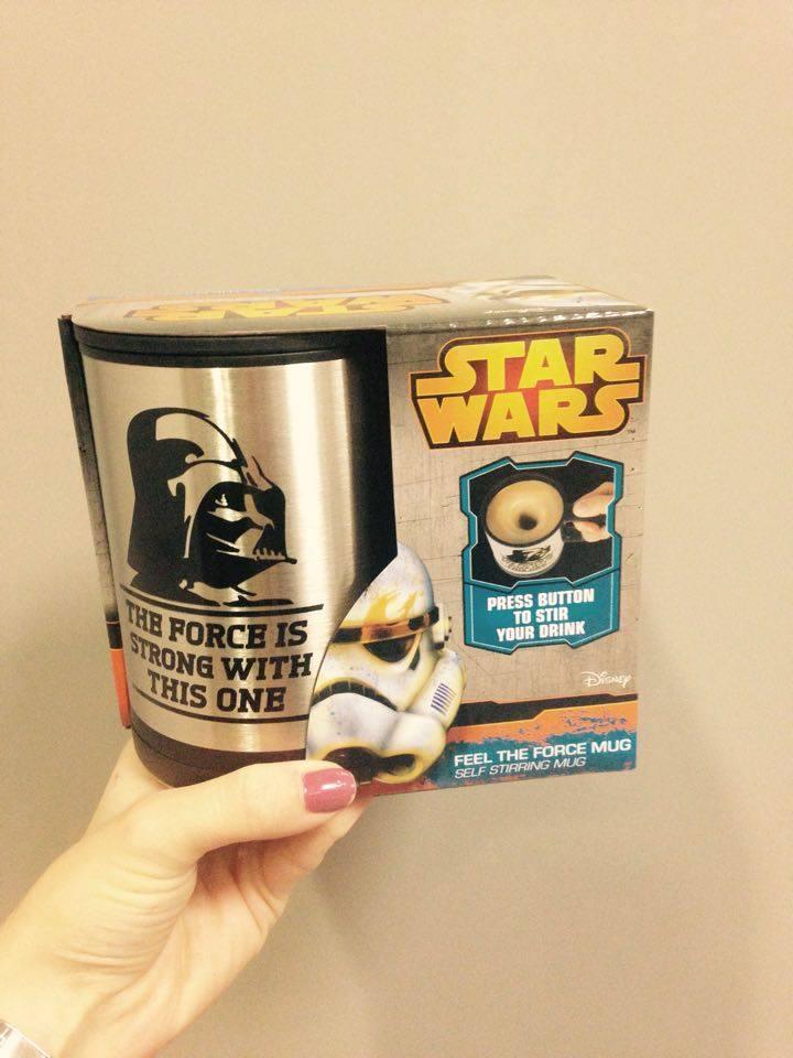 Le test du mug mélangeur Dark Vador Star Wars - Pigsou Mag