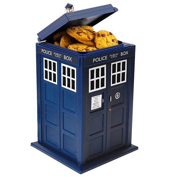 boite gateaux doctor who
