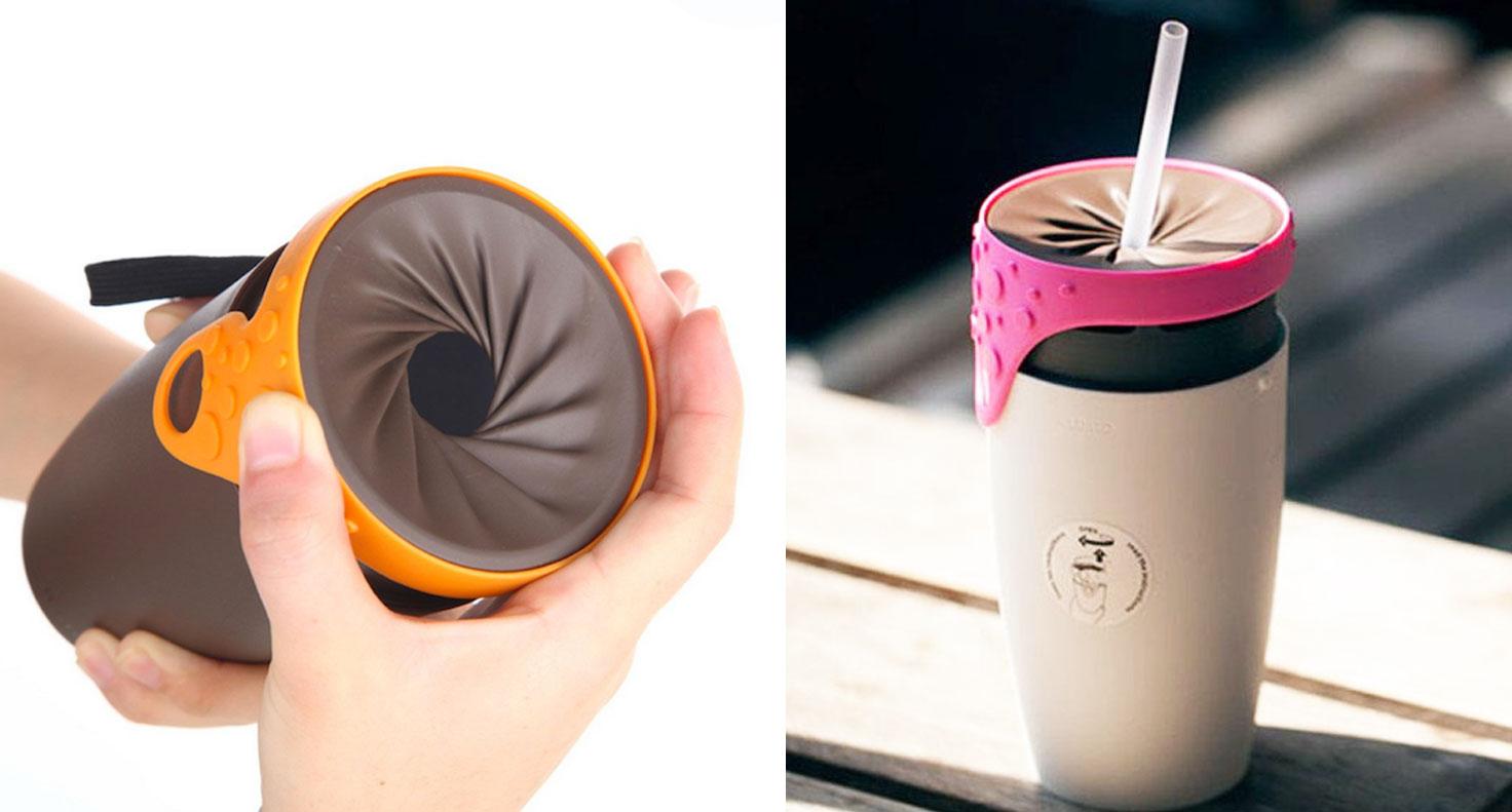 Le thermos de demain fonctionne par torsion et il r sout - Thermos pour cafe ...
