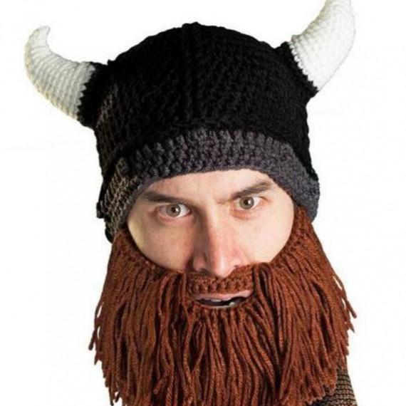 Bonnet barbe de viking