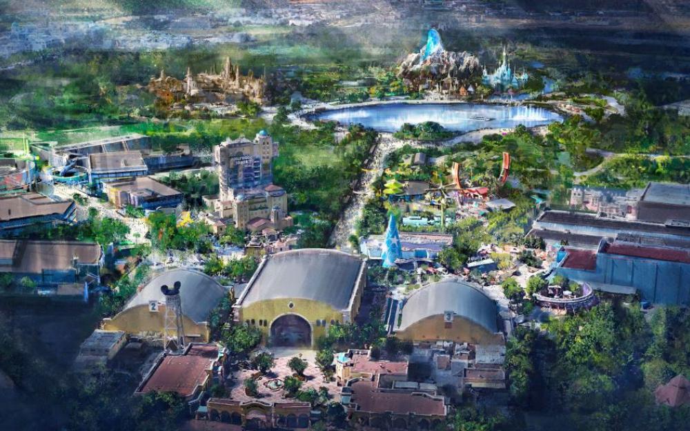 Le projet de Disneyland Paris pour 2021