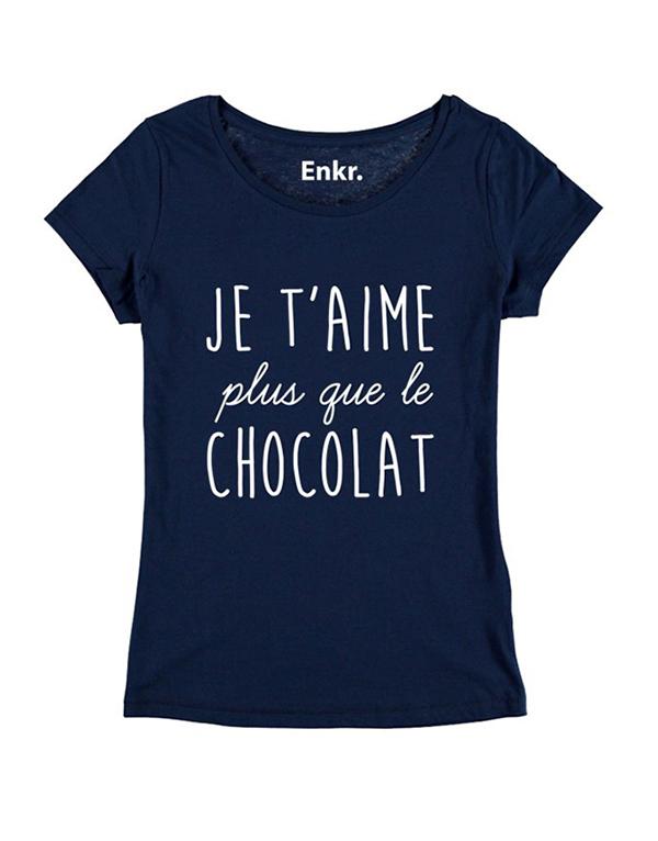 t-hirt femme chocolat