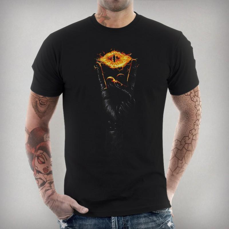 t-shirt seigneur des anneaux rock