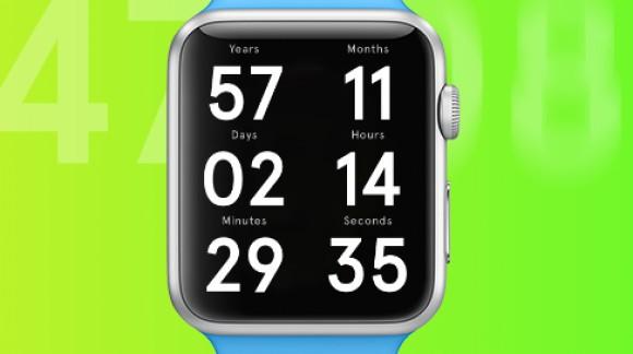 L'Apple Watch vous dit combien de jours il vous reste à vivre avec l'application The Life Clock