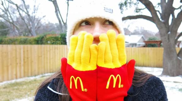 Les gants frites McDo, qui veut tester ?
