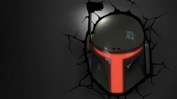 Découvrez les lampes murales Star Wars qui semblent tout droit sorties de votre mur