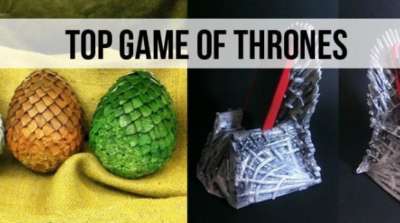 Top Game of Thrones: les 10 objets de OUF à avoir