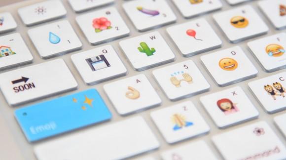 Un clavier Emoji pour communiquer avec des émoticônes et non plus avec des mots