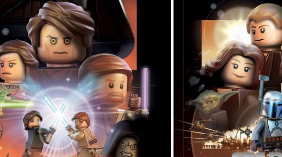 Les affiches de Star Wars en version LEGO. Sublimes !