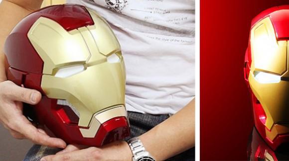 Le casque Iron Man qui envoie du gros son ! Oui, c'est une enceinte bluetooth.