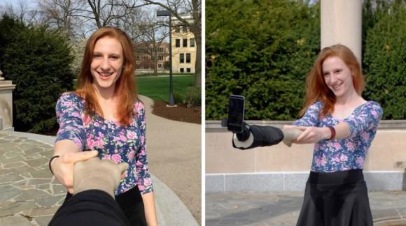 La perche bras pour ne jamais être seul sur vos selfies !