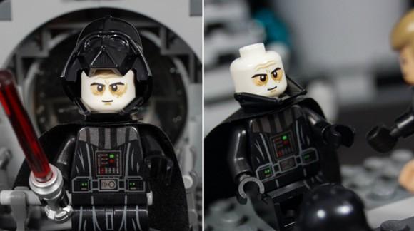 Nouvelle figurine LEGO : Dark Vador enlève son masque comme dans le Retour du Jedi