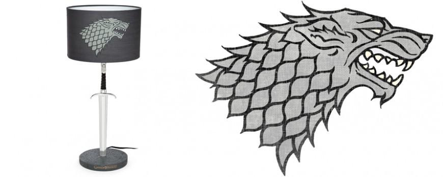 "La lampe de bureau ""Jon Snow"" Game of Thrones"