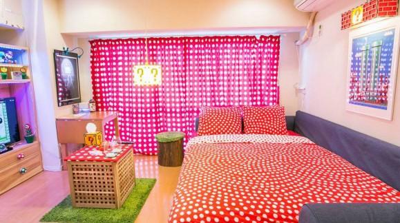 Mario World : un appartement AirBnB à la déco 100% Super Mario