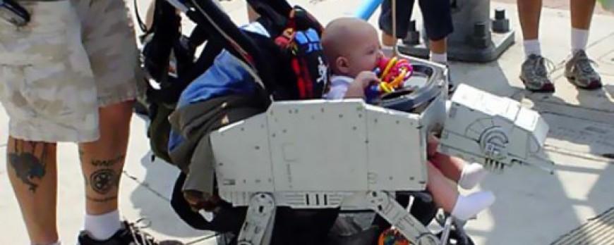 Star Wars : la poussette TB-TT pour les bébés geek