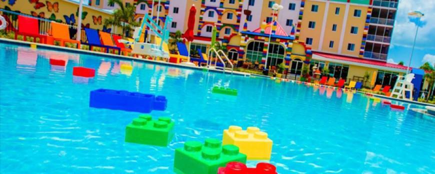 Découvrez l'hôtel LEGO qui vient d'ouvrir ses portes en Floride ! Le LEGOLAND Florida Resort