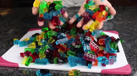 Les LEGO, c'est trop bon ! Fabriquez vous-même des bonbons en forme de LEGO