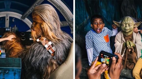 Star Wars : Le musée Grévin de Londres réalise votre rêve de faire des selfies avec vos personnages préférés de Star Wars