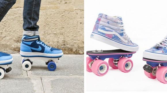 Transformez vos chaussures en rollers grâce à On Wheelz ! Les patins en un clips