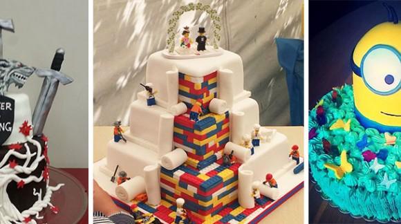 Découvrez les pièces montées et gâteaux d'anniversaire geek les plus incroyables de l'univers !