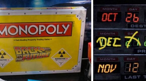 Nom de Zeus : le Monopoly Retour vers le futur débarque en 2015 et il est déjà en précommande
