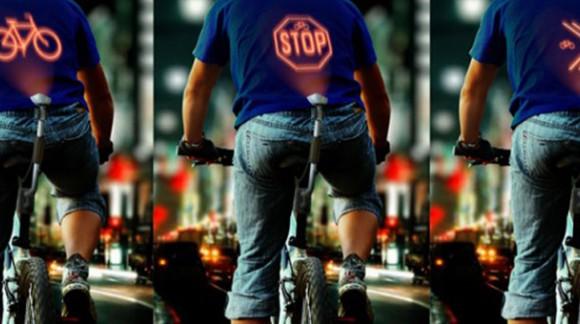 Cyclee, le nouvel objet connecté pour être visible de nuit sur son vélo