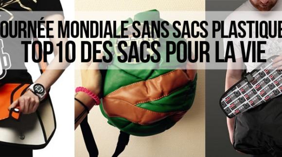 Top Journée Mondiale sans sacs plastiques : 10 sacs utilisables à l'infini