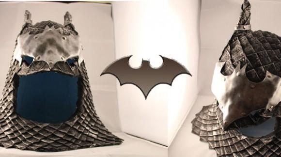 Cosplay Batman : le chevalier noir a désormais son armure moyenâgeuse !