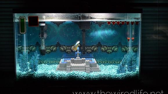 Aidez cet étudiant à payer ses dettes en achetant son aquarium The Legend of Zelda !