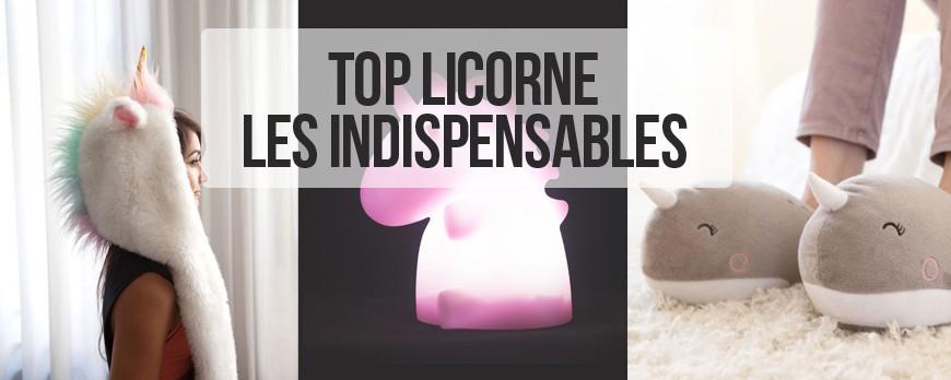 TOP LICORNE : les indispensables licorne à se procurer d'urgence