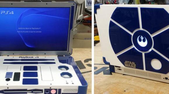 La playstation 4 PlayBook version R2-D2. On craque !