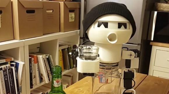 Drinky, le robot qui trinque avec vous