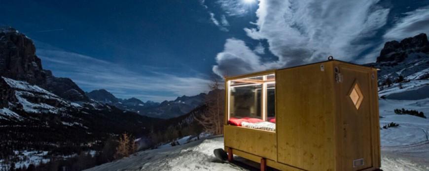 Starlight Room : Dormir sous les étoiles en pleine montagne avec le confort d'une chambre d'hôtel